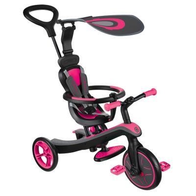 Велосипед Globber Trike Explorer (4 IN 1), Розовый 632-110