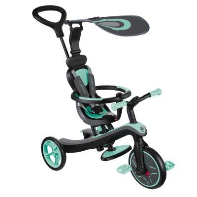 Велосипед Globber Trike Explorer (4 IN 1) Бирюзовый 632-206