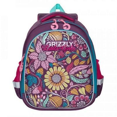 Рюкзак Grizzly RA-979-8 цветы