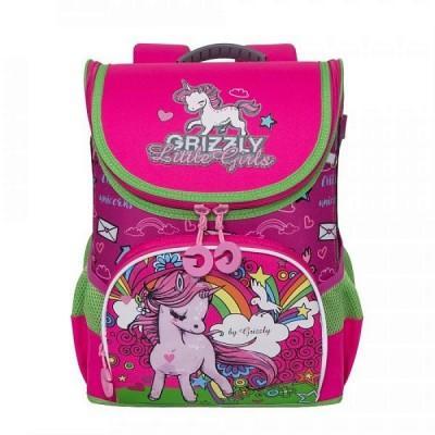 Рюкзак Grizzly RA-981-2 единорог