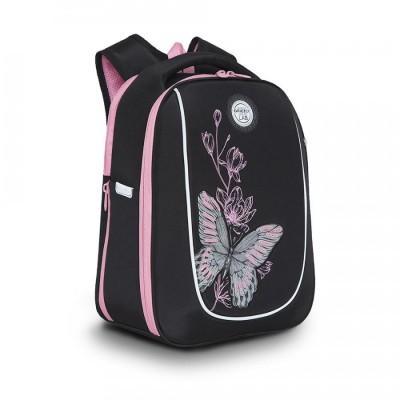 Рюкзак школьный Grizzly RAF-192-3 Бабочка