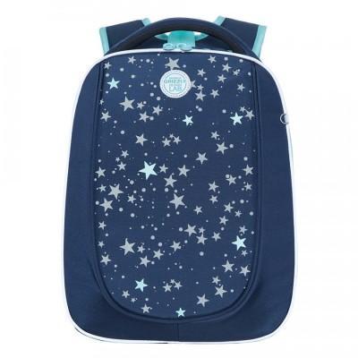 Рюкзак школьный Grizzly RAF-192-8 Звезды