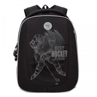 Рюкзак школьный Grizzly RAF-193-6 Хоккей