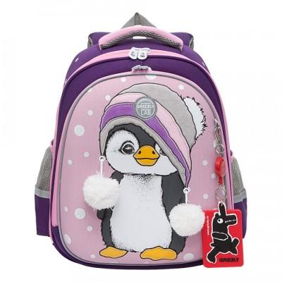 Рюкзак Grizzly RAZ-186-4 Пингвин