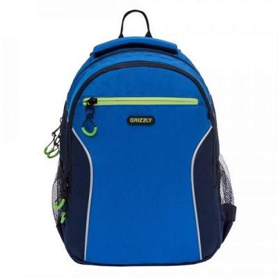 Рюкзак Grizzly RB-963-1 синий