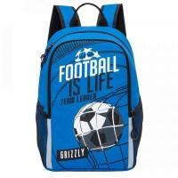 Рюкзак школьный Grizzly RB-964-5 футбол