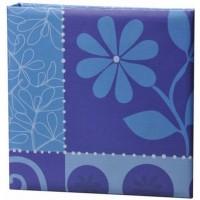 HENZO 98201 10x15/200 фото Flowerfest (синий) фотоальбом