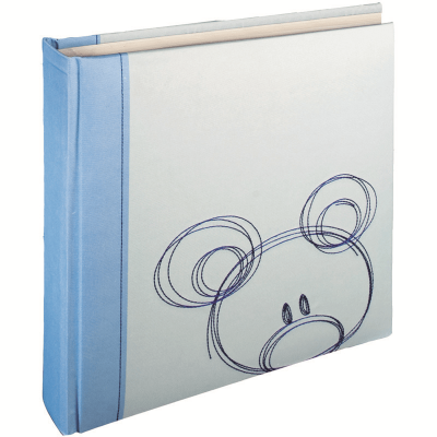 HENZO 20002 28x30.5/56 бел.стр.,4ил.стр.Sammy (голубой,детский) фотоальбом