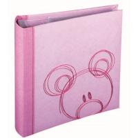 HENZO 20002 28x30.5/56 бел.стр.,4ил.стр.Sammy (розовый,детский) фотоальбом