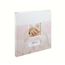 HENZO 20032 28х30.5/56 бел. стр.,4ил.стр. Yara (розовый) фотоальбом