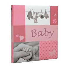 HENZO 20161 28x30.5/60 бел.стр.JESSY (розовый, детский) фотоальбом