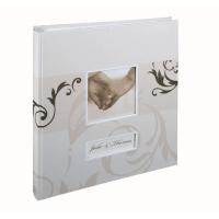HENZO 22006 28х30.5/60 бел.стр. Yara (бежевый, свадьба) фотоальбом