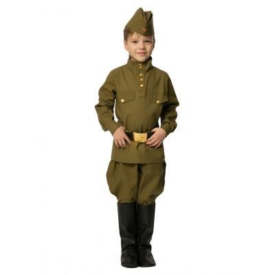 Детский военный костюм Солдата ВОВ