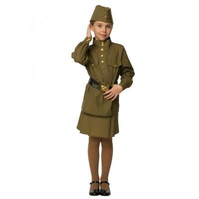 Детский костюм гимнастерка для девочки