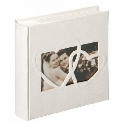 Walther ME-123 10x15/200 фото Sweet heart белый, свадебный фотоальбом