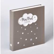 WALTHER UK-205 28x30.5/50бел.стр,4 ил.стр. Magical (серый, детский) фотоальбом