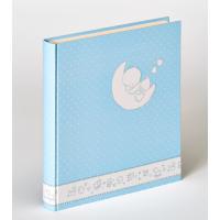 WALTHER UK-208-L 28x30,5/50 бел.стр.,4 ил.стр. Cuty ducky (голубой,детский) фотоальбом