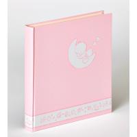 WALTHER UK-208-R 28x30,5/50 бел.стр.,4 ил.стр. Cuty ducky (розовый,детский) фотоальбом