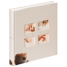 Walther UK-273 28x30.5/60 бел.стр.,4ил.стр. Classic Bear (кремовый, детский) фотоальбом