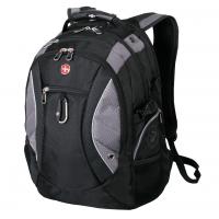 Рюкзак WENGER 15'' чёрный/серый 35х23х48 см 39 л