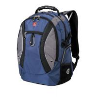 "Рюкзак WENGER 15"" синий/серый 900D 35х23х48 см 39 л"