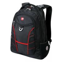 """Рюкзак WENGER 15"""" чёрный/красныйт35х20х47 см, 33 л"""