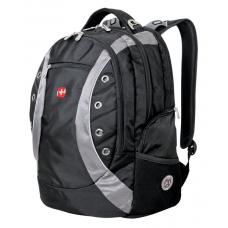 """Рюкзак WENGER 15"""" черный-серый 36х21х47 см 35 л"""