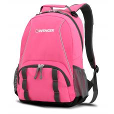 Рюкзак WENGER розовый/серый 32х14х45 см, 20 л