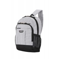 Рюкзак WENGER с одним плечевым ремнем 13'', ткань Grey Heather, 24x14x34,3 см, 12 л