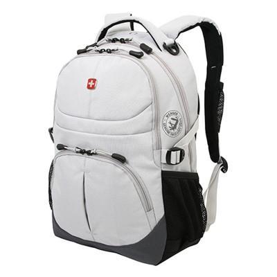 Рюкзак WENGER, серый, полиэстер, 33х15х45 см, 22 л