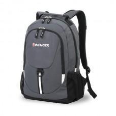 Рюкзак WENGER серый/чёрный 32х14х45 см, 20 л