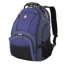 """Рюкзак WENGER 15"""" синий/чёрный 35x19x44 см, 29 л"""