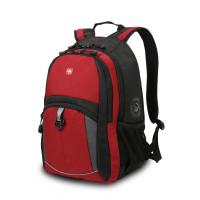 Рюкзак WENGER 15'' красный-черный-серый 33x15x45 см 22 л