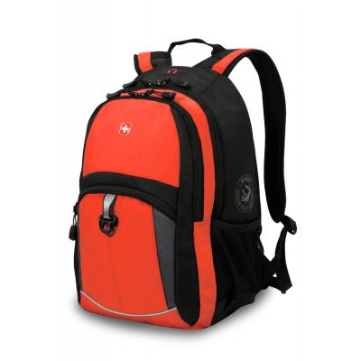 Рюкзак WENGER 15'' оранжевый-черный-серый 33x15x45 см, 22 л