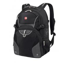 "Рюкзак WENGER 15"" чёрный/серый  36х19х47 32 л"