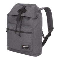 Рюкзак WENGER 13'' cерый ткань Grey Heather 29х13х40 см 15 л