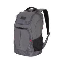 Рюкзак WENGER 19'', серый, полиэстер 900D/рипстоп, 31x19x48см, 28л