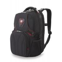 Рюкзак WENGER, 15'', черный, полиэстер 900D, 36х21х47 см, 35 л