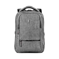 Рюкзак WENGER 14'', темно-серый, полиэстер, 26x19x41 см, 14 л