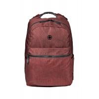 Рюкзак WENGER 14'', бордовый, полиэстер, 31x24x42 см, 22 л