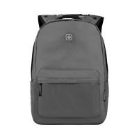 Рюкзак WENGER 14'', серый, полиэстер, 28x22x41 см, 18 л