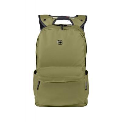 Рюкзак WENGER 14'', оливковый, полиэстер, 28x22x41 см, 18 л