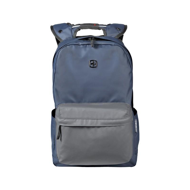 a6fbcc2a2b97 Купить Рюкзак WENGER 14'', синий/серый, полиэстер, 28x22x41 см, 18 л ...