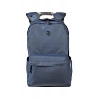 Рюкзак WENGER 14'', синий, полиэстер, 28x22x41 см, 18 л
