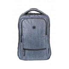 Рюкзак WENGER 14'', синий, полиэстер, 26x19x41 см, 14 л