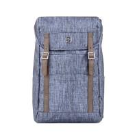 Рюкзак WENGER 16'', синий, полиэстер, 29x17x42 см, 16 л