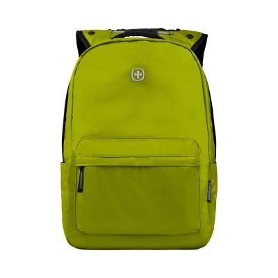 Рюкзак WENGER 14'', салатовый, полиэстер, 28x22x41 см, 18 л