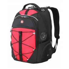 """Рюкзак WENGER 15"""" чёрный/красный 34x19x46 см 30 л"""