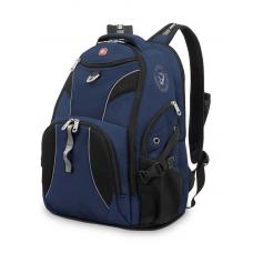 """Рюкзак WENGER 15"""" синий/черный 34x17x47 см, 26 л"""